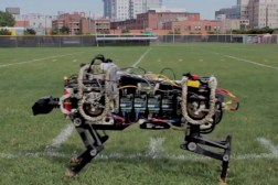 MIT Robot Cheetah Running