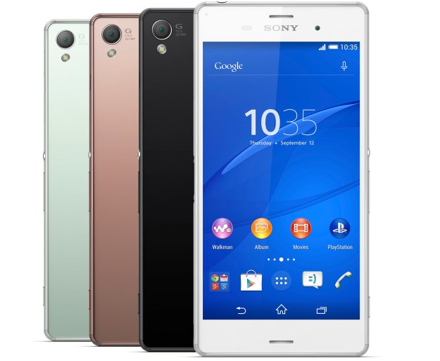 Sony Xperia Z3 Announced