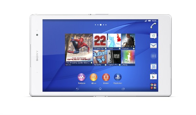 Xperia Z3 Tablet Compact Specs