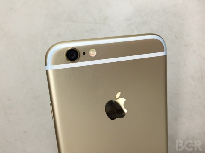 iPhone 6s Leaked Photos Force Touch FaceTime Camera