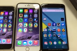 iPhone 6 Plus vs Nexus 6: Display