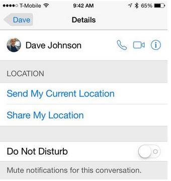My IPhone Location