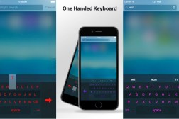 iPhone 6/Plus One Handed Keyboard