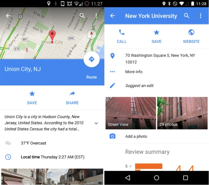 Google Maps 9.1 for Android Update