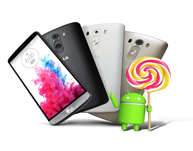 LG G3 Android 5.0 Lollipop Release Date