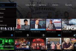 PlayStation Vue for PlayStation 4 and iPad