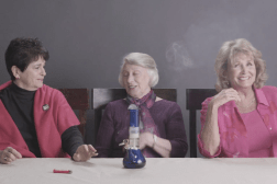 Grandmothers Smoking Pot Video
