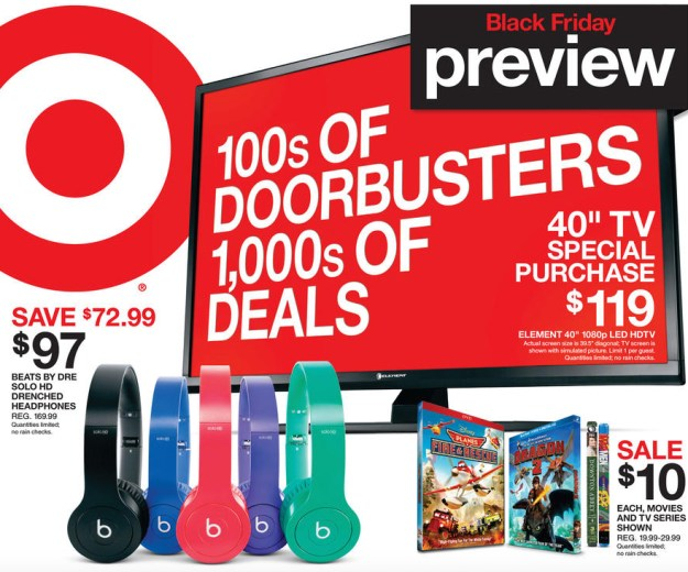 Target Black Friday 2014 Full Ad