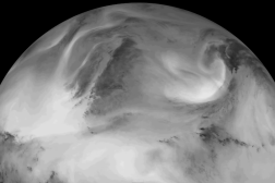 NASA Satellite Video Earth Infrared Light