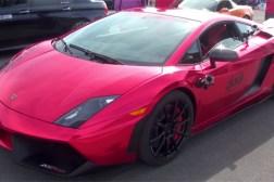 Lamborghini Drag Race Video
