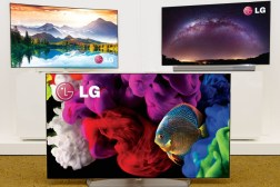 LG 4K TV at CES 2015