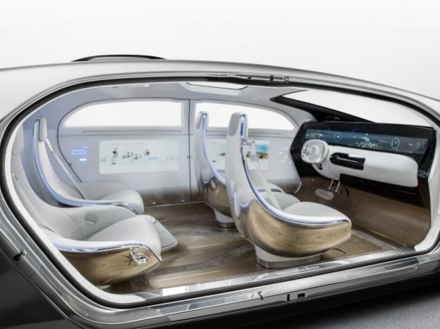 Mercedes-Benz F 015 Self-Driving Car
