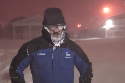 Jim Cantore Thundersnow Video