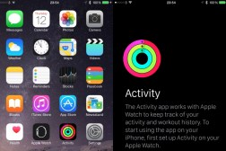 Apple Watch: iOS 8.2 Activity App for iPhone