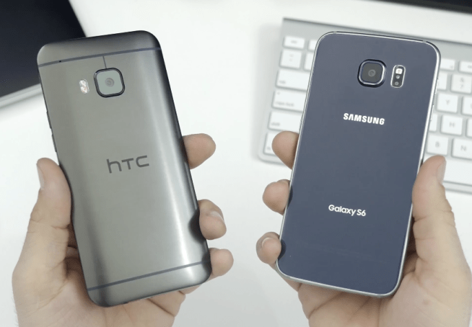 Galaxy S6 Vs. HTC One M9 Video