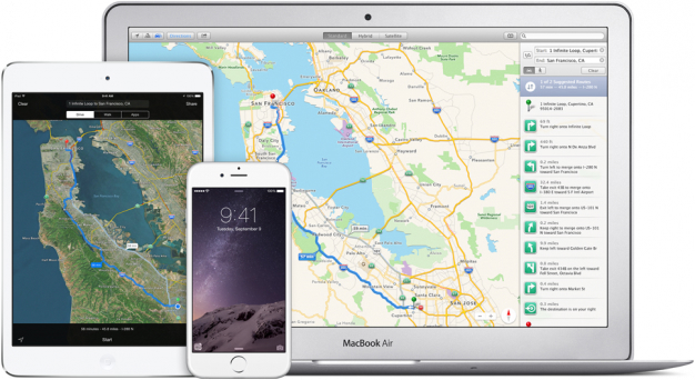 Apple Maps iOS 9