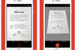 iPhone Office Lens App