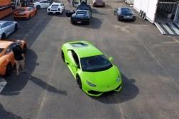 Lamborghini Huracan Drag Racing