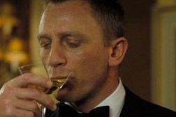 James Bond Drinking