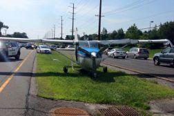 Airplane Emergency Landing Highway New Jersey Video