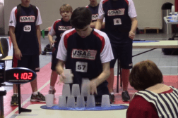 Cup Stacking World Record 5 Seconds