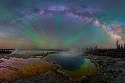 Milky Way Night Sky Photos Yellowstone