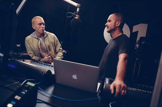 Eminem Beats 1 Interview
