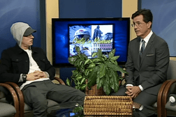 Stephen Colbert Interviews Eminem