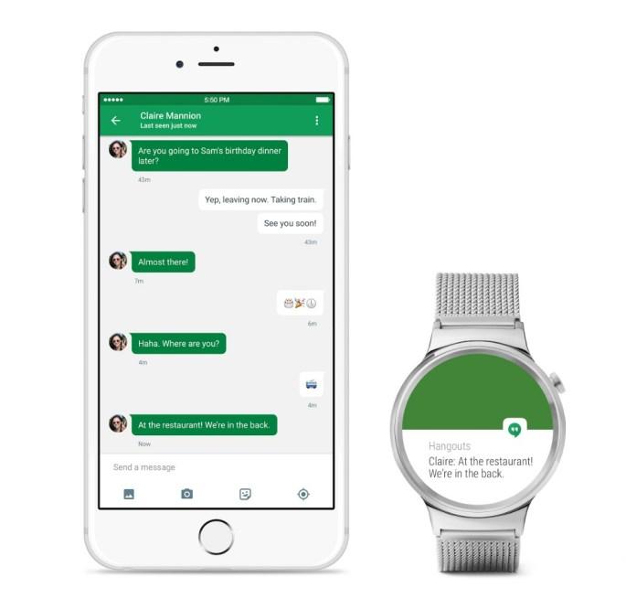 iPhone 6s Huawei Watch