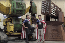 USA Vs. Japan Giant Robot Kickstarter
