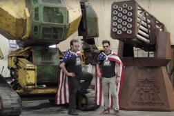 USA Vs. Japan Giant Robot Kickstarter
