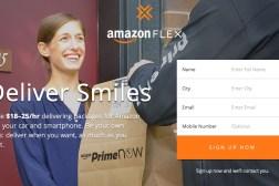 Amazon Flex Uber Driver Prime Now