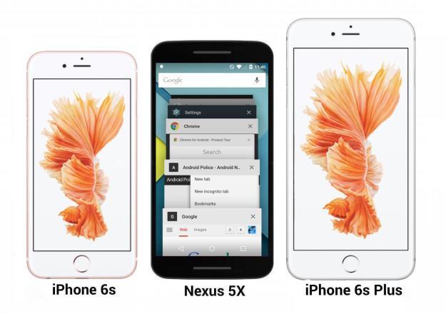 Nexus 5X vs. iPhone 6s comparison photos and leaked new ...