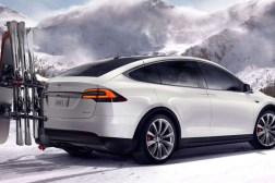 Tesla Model X Bioweapon Defense Mode Test