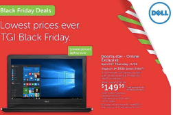 Dell Black Friday 2015 Deals