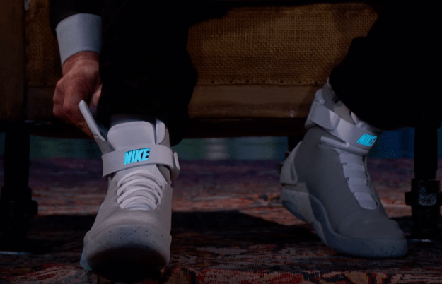 Michael J Fox Nike self-lacing shoes video | BGR
