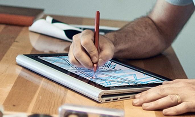 Surface Book Retina MacBook iPad Pro