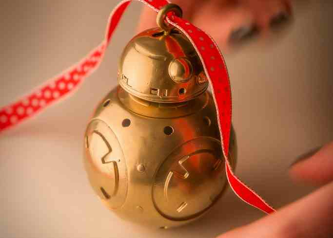 Star Wars BB-8 3D Printed Christmas