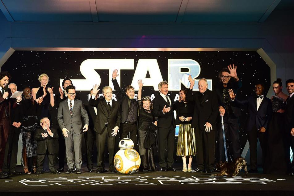 Star Wars Force Awakens Cast