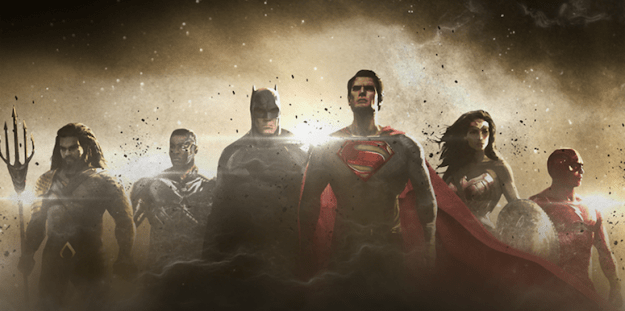 Justice League Movie Team Revealed