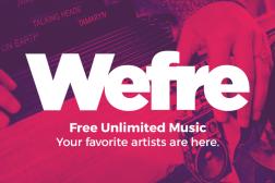 Wefre Free Spotify Alternative