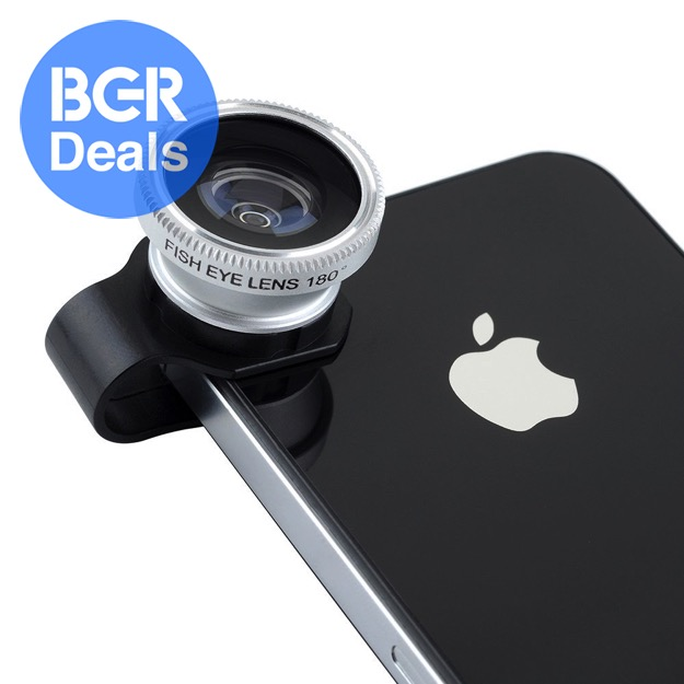 Clip-on lens for phone