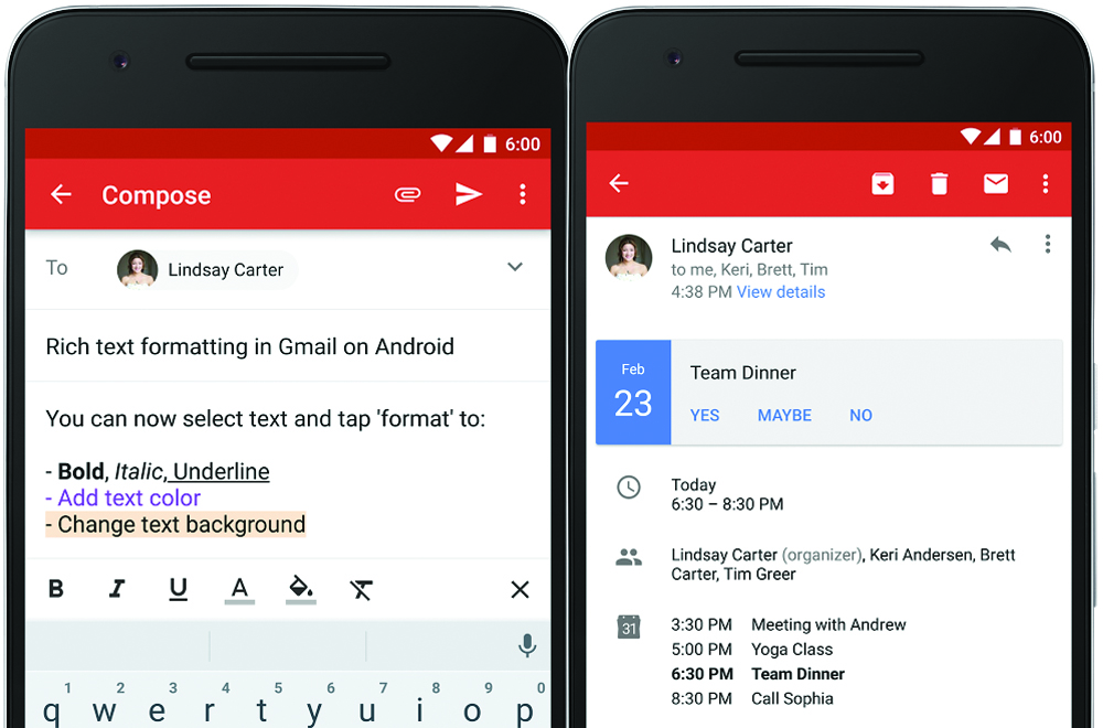 Add New Calendar To Google Calendar On Desktop 7 Ways To View Google Calendar On Your Windows Desktop Google Gmail App Updates Rich Text Instant Rsvps Bgr