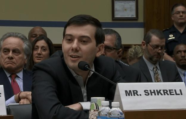 Martin Shkreli Congressional Testimony Video