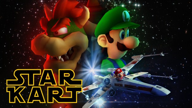 Star Wars Mario Kart Mashup