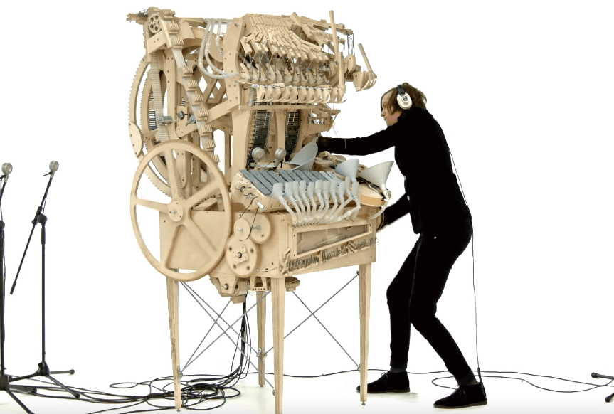 Wintergatan - Marble Machine [Experimental]