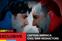 Captain America Civil War Reenactors
