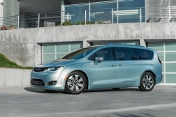 Google Fiat Chrysler Pacifica Minivan
