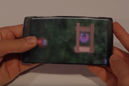 HoloFlex Holographic Flexible Smartphone Video