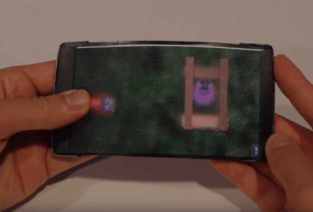 HoloFlex Holographic Flexible Smartphone Video